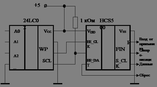 Схема подключение внешней